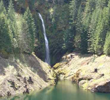 cougar hot springs waterfalls
