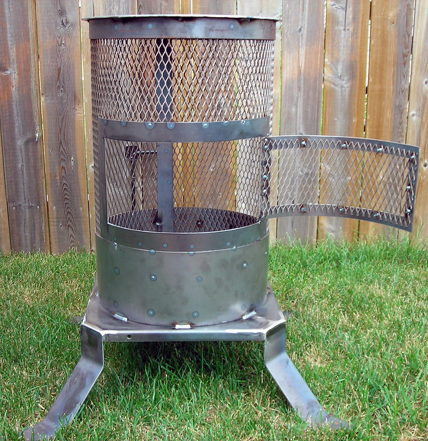 Outdoor Fireplace Welding Project : Fire pit by r kraemer flickr photo sharing