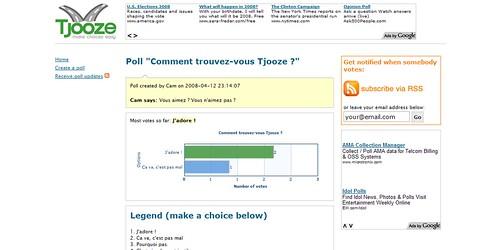 tjooze cr er un sondage interactif en quelques minutes secondes. Black Bedroom Furniture Sets. Home Design Ideas