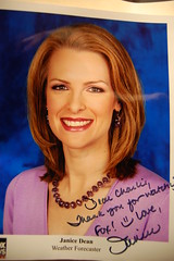 From my favorite weather chick
