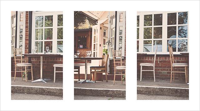 Cafe-Triptych