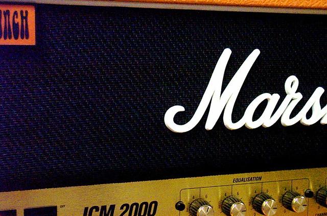 Photo:Marshall Amp By taberandrew