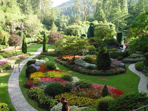 bouchard gardens landscape victoria island