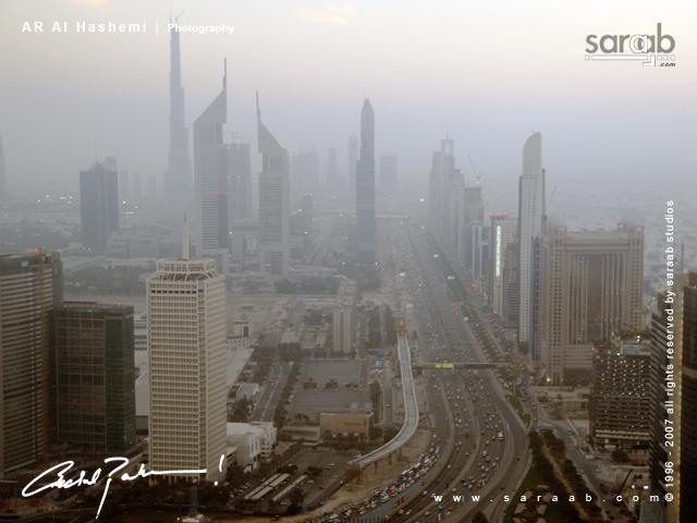 Dubai - Sheikh Zayed Road!