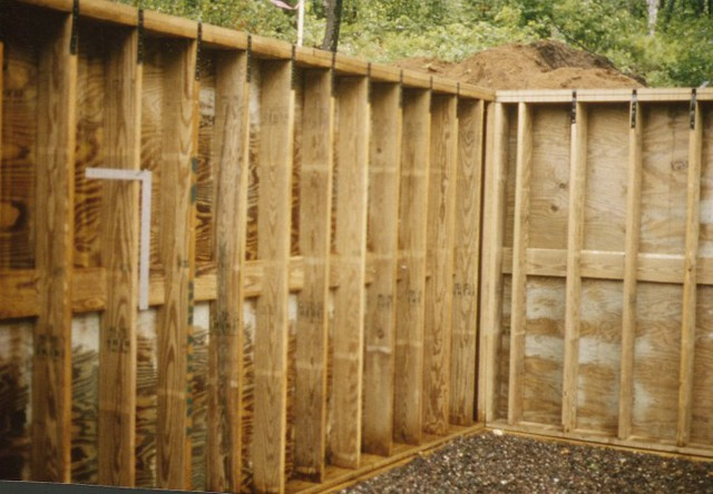 wood foundation wall flickr photo sharing