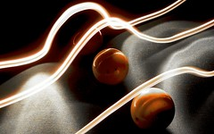 Light Painting Billard 4