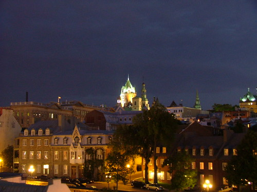 Vieux-Québec by Night