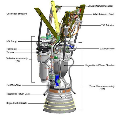 Falcon 9 rocket drawing pics about space for 1 stage vs 2 stage vacuum motor
