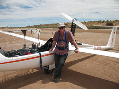 Gliding, Bitterwasser, Namibia 2008