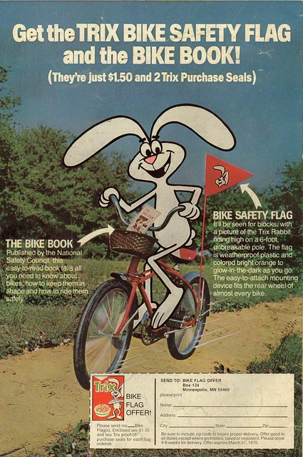 Trix Bike Safety Flag Offer