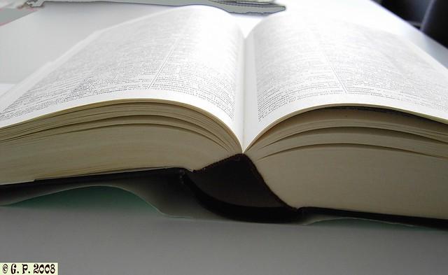 Buch offen - book open