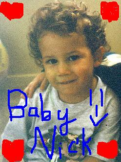 Nick Jonas as a baby!