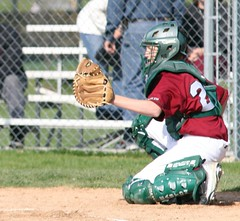 softball, sports, college softball, college baseball, team sport, baseball field, player, baseball player, catcher, bat-and-ball games, ball game, baseball, athlete,
