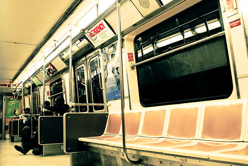 nyc. subway.