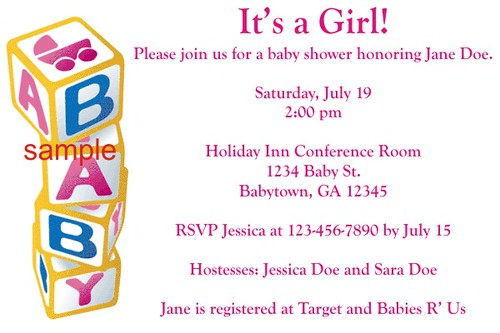 Walgreens Baby Shower Invites Is Good Invitation Example