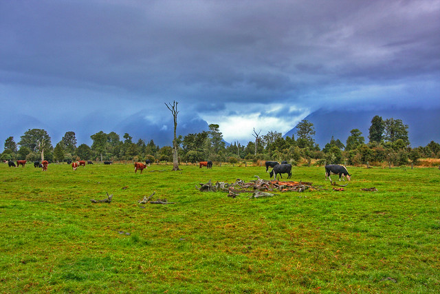 Farm landscape flickr photo sharing - Beautiful panoramic view house to take full advantage of the scenery ...