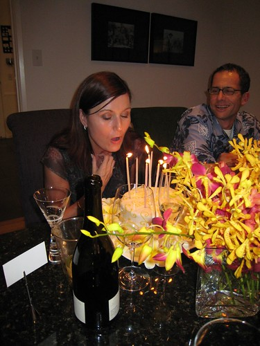 party, orchids, fuchsia, yellow, birthday c… IMG_0017