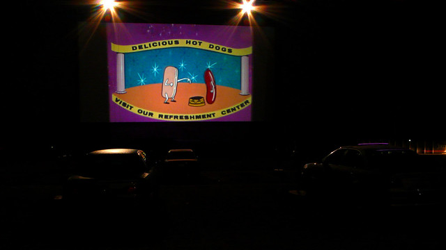 McHenry Outdoor Drive-In Movie Theater September 28th 2007 Intermission