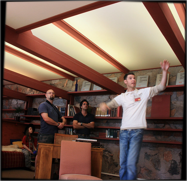 Taliesin West, Tour Guide, 2008