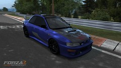 subaru impreza wrx sti(0.0), race car(1.0), automobile(1.0), automotive exterior(1.0), wheel(1.0), vehicle(1.0), bumper(1.0), subaru impreza(1.0), sedan(1.0), land vehicle(1.0), sports car(1.0),