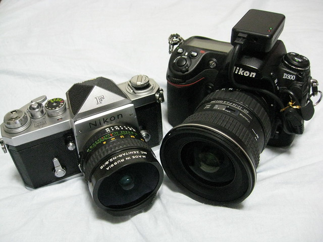 Nikon F MC Zenitar, Canon IXY DIGITAL 810 IS