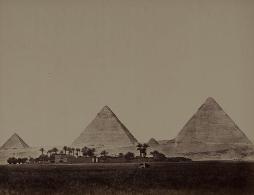 Pyramides de Ghyzéh, Vue Générale