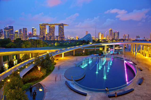 Singapore Marina Barrage