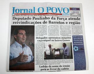 Jornais da região de Barretos destacam atuação de Paulinho da Força