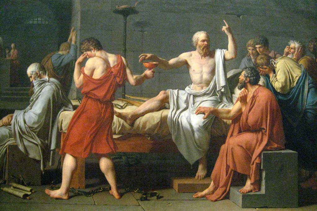 NYC - Metropolitan Museum of Art - Death of Socrates