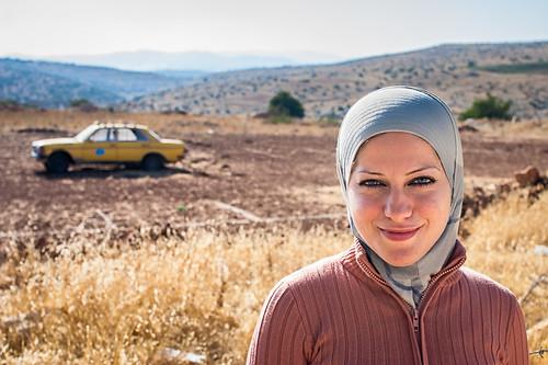 woman religious veil palestine taxi jenin muslim islam hijab modesty palestinian israelipalestinianconflict