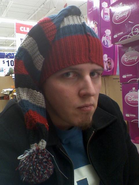 coolest hat i've ever worn