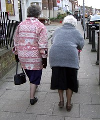 Old Ladies on Oxford Road