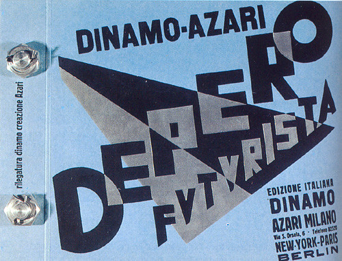 Futurismo Fortunato Depero, 1927 by louis_no_0119
