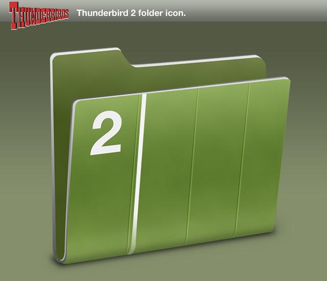 how to delete folders in thunderbird