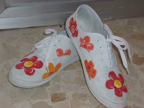 manualidades zapatillas