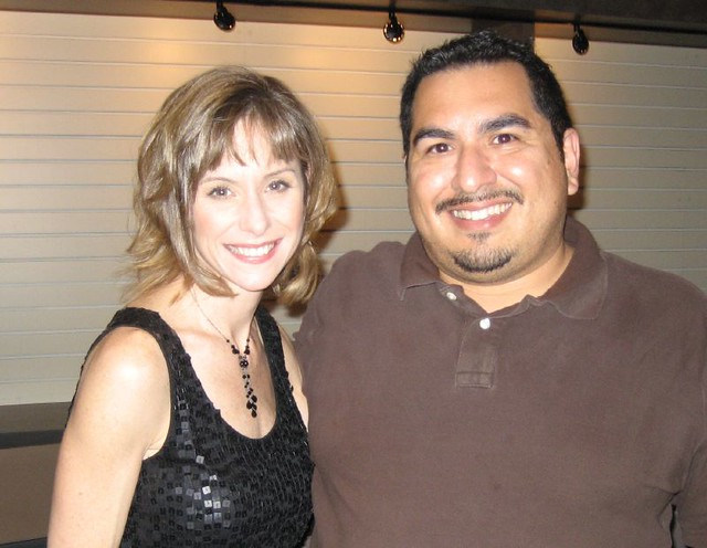 Susan Egan and James. (10/25/07)