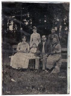 Tintype - Family Group