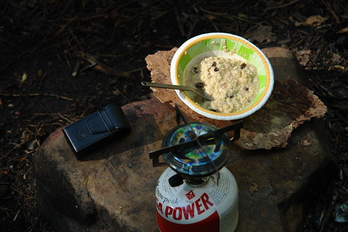Oatmeal on the trail, Creative Commons