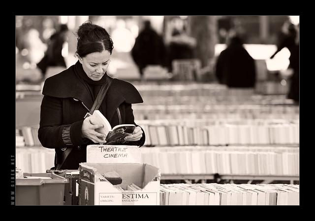South Bank Book Market, London, UK