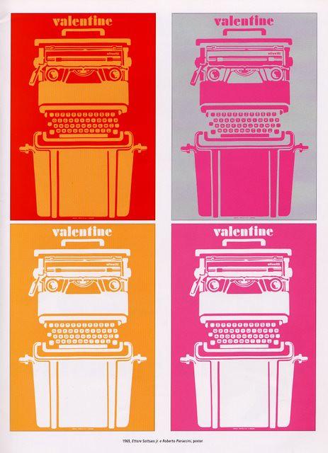 Olivetti Valentine Poster