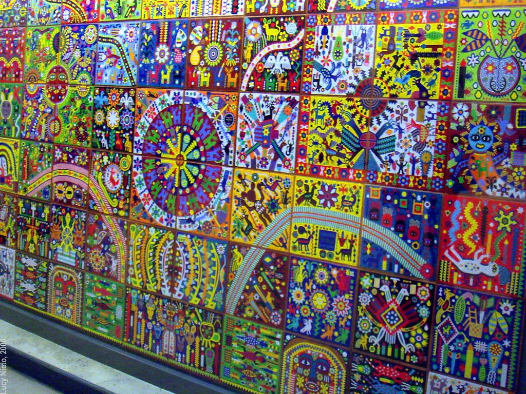 Murales Huicholes