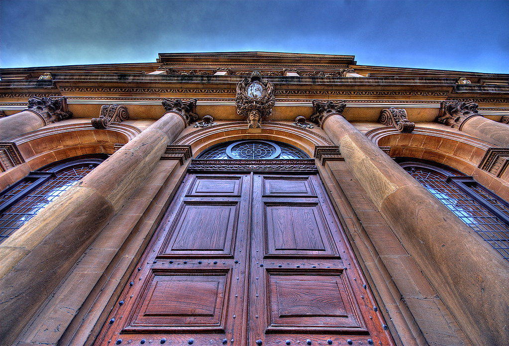 Back Door Entry | Back Door Of Sheldonian Theatre, Oxford,UK ...