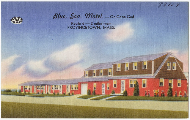 blue sea motel on cape cod route 6 2 miles from. Black Bedroom Furniture Sets. Home Design Ideas