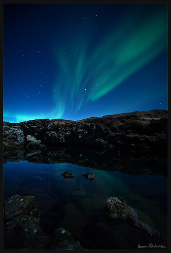 Aurora at Thingvellir