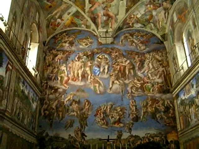 Inside of the Sistine Chapel | Flickr - Photo Sharing!