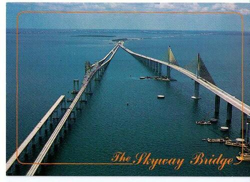 Tampa Bay Bridge Florida Tampa Bay Skyway Bridge