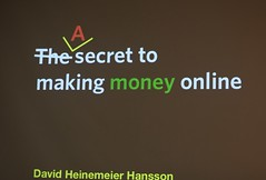 A secret to making money online