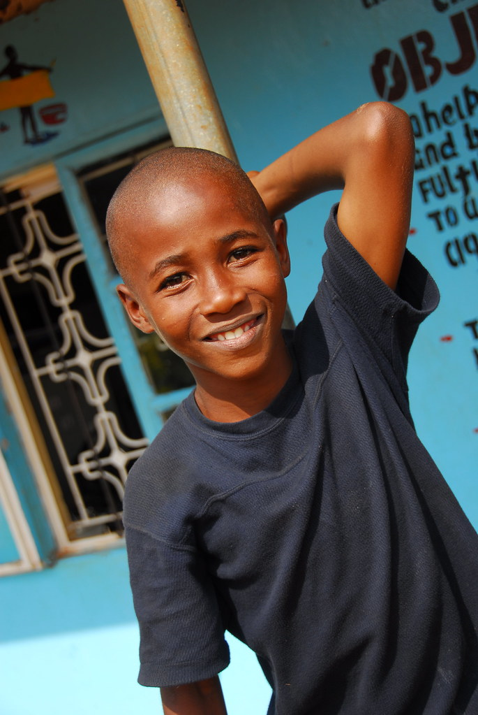Ugandan Boy At Compassion Project