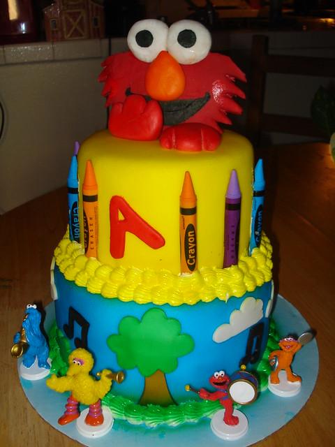 Elmo Cake Decorating Ideas