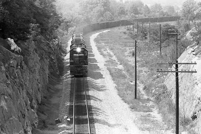 Coal Train at Johnson City, Tennessee